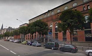 EM Strasbourg. Capture d'écran Google View.