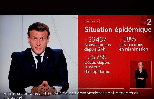 Confinement: Télétravail, chômage partiel, poursuite de l'activité… Ce qu'a annoncé Emmanuel Macron sur la vie professionnelle