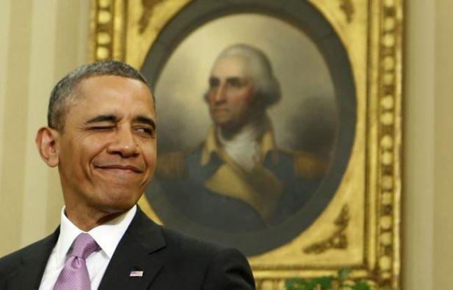 Le président américain, Barack Obama, le 23 avril 2013, à la Maison blanche, à Washington (Etats-Unis).