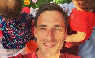 Pascal Van Hoorne, papa de deux jumeaux de 18 mois.