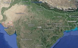 Le fossile a été découvert dans le district de Kutch, à l'Ouest de l'Inde.