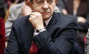 """Jean-Luc Mélenchon, candidat du Front de gauche à l'Elysée, a réclamé une nouvelle fois vendredi un référendum contre le nouveau traité européen, qu'il a qualifié d'""""odieux""""."""