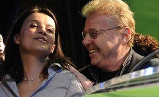 Cécile Duflot et Daniel Cohn-Bendit, le 14 mars 2010 à Paris.