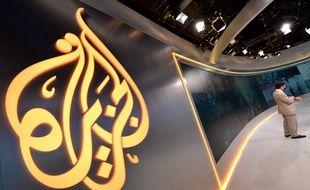 Le logo d'Al-Jazeera.