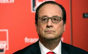Le président François Hollande (ici dans les studios de France Inter le 5 juin 2016) vigilant sur l'avenir de l'actionnariat du géant hôtelier AccorHotels qui suscite la convoitise du Chinois Jin Jiang