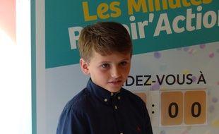 Martin, 7 ans, est l'ambassadeur de cette nouvelle campagne de sensibilisation sur la mucoviscidose.