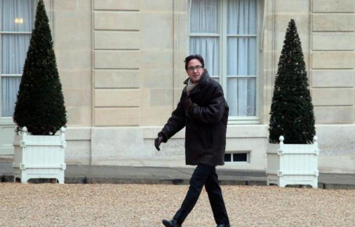 Le conseiller politique de François Hollande Aquilino Morelle à l'Elysée le 25 février 2013 – Jacques Demarthon AFP
