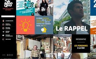 Le 19 septembre 2016, la fondation Abbé Pierre a lancé uneplateforme virtuelle et interactive Lien : #OnAttendQuoi pour sensibiliser sur le mal-logement.