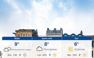 Météo Lille: Prévisions du samedi 29 février 2020