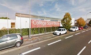 Le collège Saint-Blaise à Vertou.