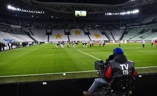 Le match Juventus-Inter à huis clos, le 8 mars 2020.