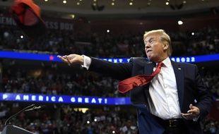 Donald Trump en meeting à Sunrise (Floride), le 26 novembre 2019.