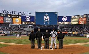 Les New York Yankees ont rendu hommage aux victimes des attentats de Boston, le 16 avril 2013.