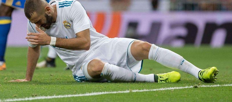 Karim Benzema avec le Real Madrid
