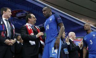 Blaise Matuidi après la défaite de la France contre le Portugal