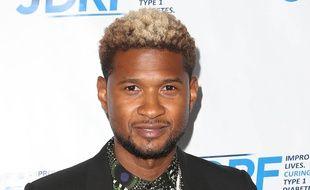 Le chanteur Usher