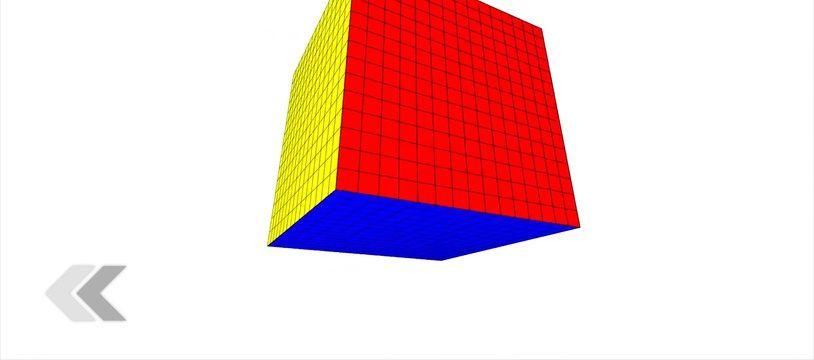 Une intelligence artificielle capable de résoudre un Rubik's Cube.