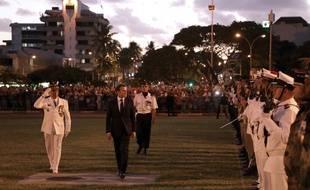 Le président Emmanuel Macron est en déplacement deux jours en Nouvelle-Calédonie.