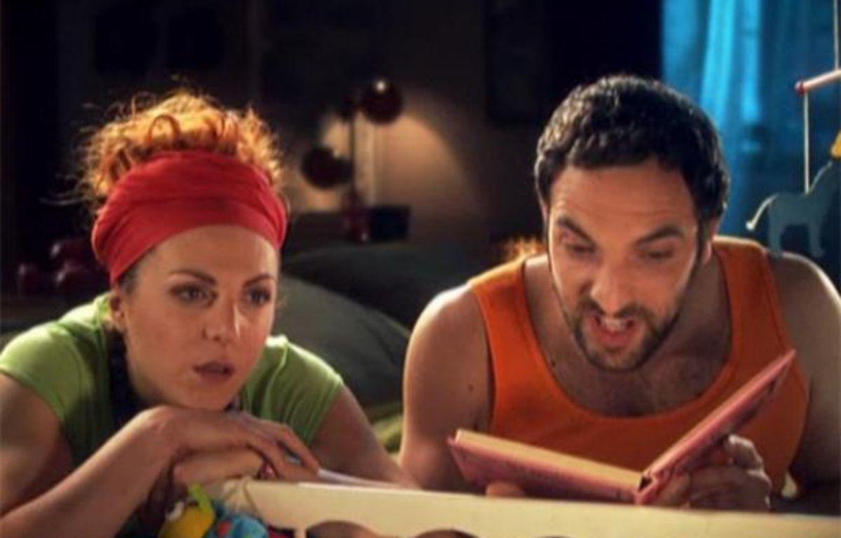 Emma et Fabien débarquent sur M6 pour la troisième saison de «Scènes de ménages». – CAPTURE D'ECRAN/20MINUTES.FR
