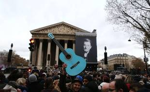 funeral ceremony for Johnny Hallyday at the Eglise de la Madeleine (La Madeleine Church) in Paris, on December 9, 2017 //PLEFLOCH_floch013267/Credit:P LE FLoch/SIPA/1712091859