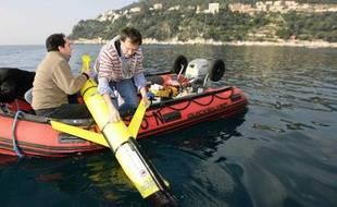 Grâce à ce roboto sous-marin une équipe d'ingénieurs va mesurer les nityrates de la Méditerranée