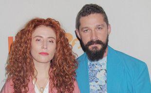 La réalisatrice Alma Har'el et l'acteur Shia LaBeouf