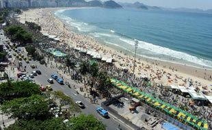 La chaleur à Rio de Janeiro a atteint le record de 42-43°