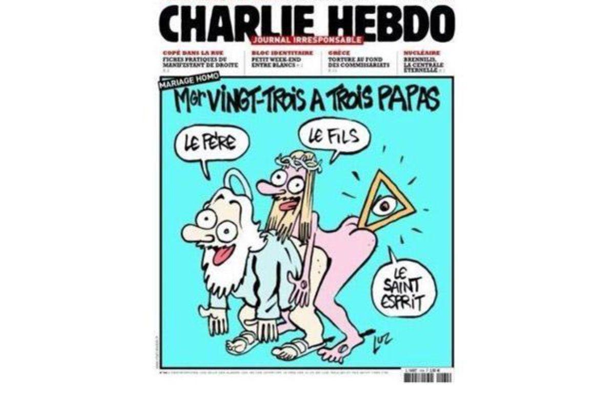La Une du numéro de Charlie Hebdo à paraître le 7 novembre 2012. – CAPTURE D'ECRAN/20MINUTES.FR