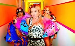 Extrait du clip Bitch I'm Madonna.