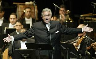 Placido Domingo (ici à Santiago en République dominicaine en 2004).