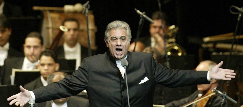 Placido Domingo (ici à Santiago en République dominicaine en 2004).