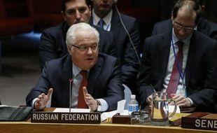 Le diplomate russe aux Nations unies Vitali Tchourkine