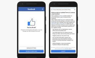 Facebook lance des nouveaux réglages sur la vie privée pour se conformer au RGPD.