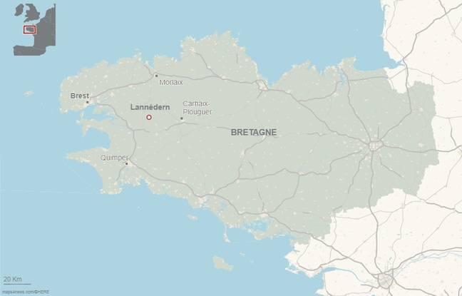 L'homme a été retrouvé mort dans son appartement à Lannédern dans le Finistère.