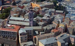La citadelle de Bastia et le port.  / AFP PHOTO / PASCAL POCHARD-CASABIANCA