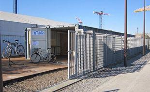 Le point relais vélo se situera au Parc des Chantiers.