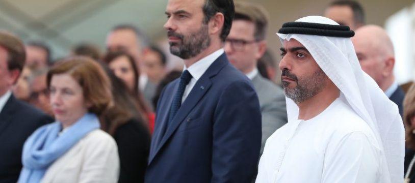 Le Premier ministre Edouard Philippe à Abu Dhabi le 10 février 2018.