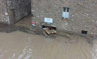 A Lagrasse, dans l'Aude, ce lundi 15 octobre.