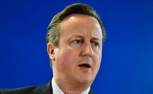 Le Premier ministre David Cameron, à Bruxelles le 18 décembre 2015