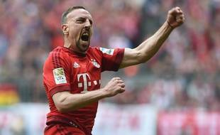L'attaquant du Bayern Munich Franck Ribéry, le 2 avril 2016.
