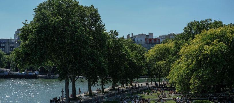 Le parc de la Villette (19e arrondissement)