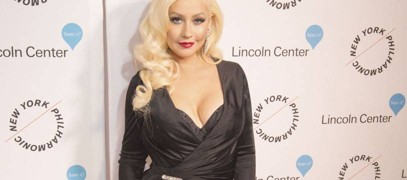La chanteuse Christina Aguilera