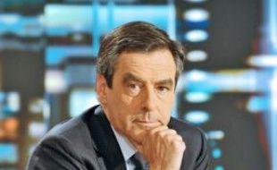 François Fillon, le 5 mai sur TF1.