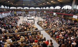 Des rassemblements contre le projet gouvernemental d'instauration de franchises médicales, dans plusieurs villes de France, ont réuni samedi au total quelques milliers de personnes, pour un modeste galop d'essai avant une autre mobilisation le 13 octobre.