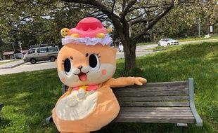 Chiitan, la mascotte loutre qui terrorise le Japon.