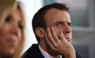 Emmanuel Macron, le 5 avril 2018.