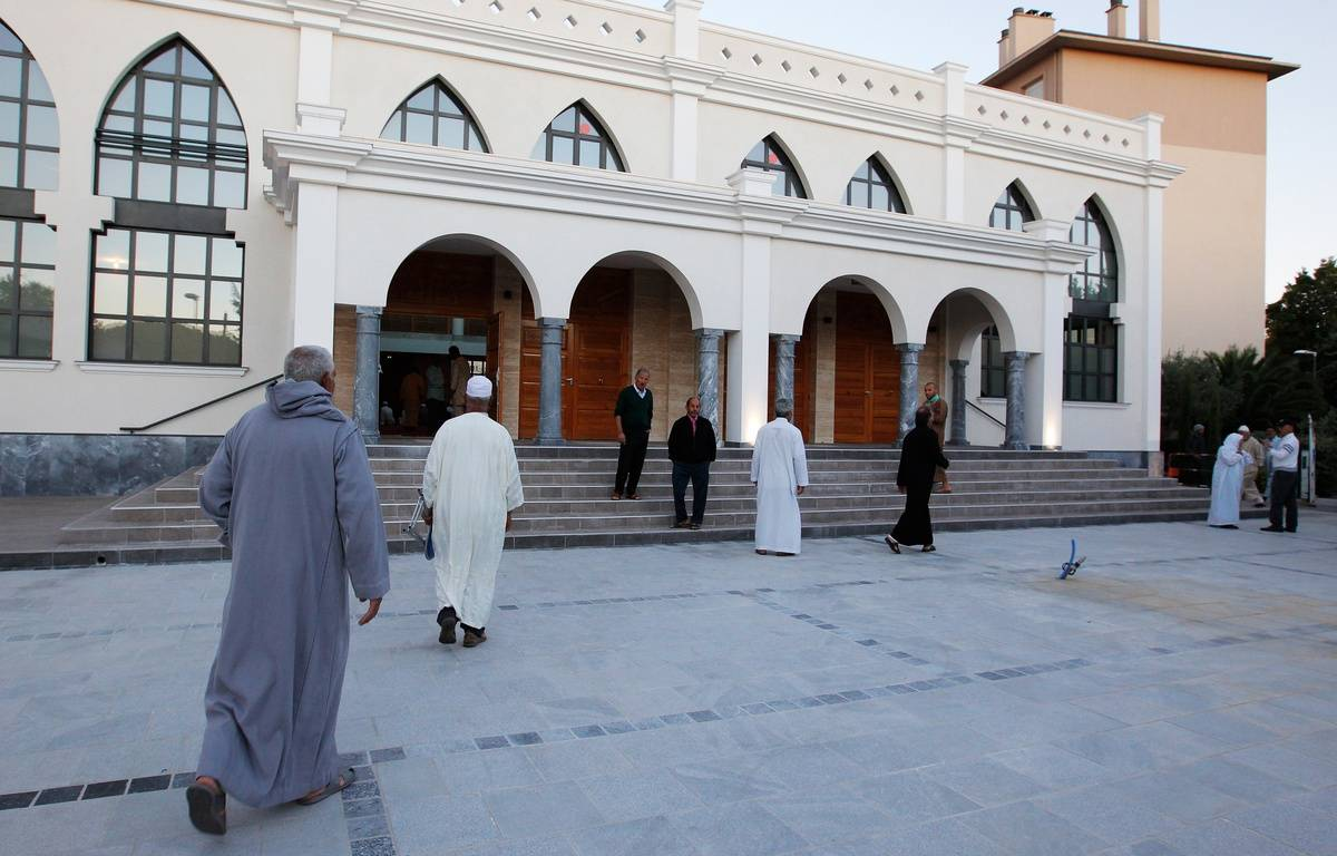 La mosquée de Fréjus – JEAN CHRISTOPHE MAGNENET / AFP