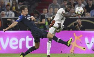 Les Français n'étaient pas au mieux de leur forme face à l'Allemagne, le match s'est soldé par un nul (0-0).