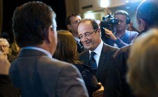 François Hollande à Tulle, le 10 juin 2012.