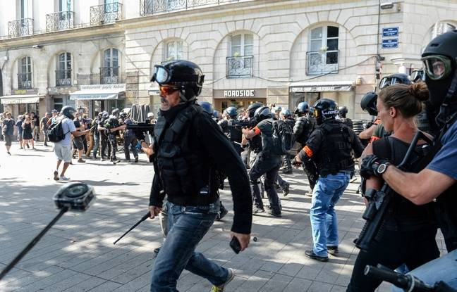 Nantes: Face à une «menace violente», une grande partie du centre-ville interdite à la manif' samedi